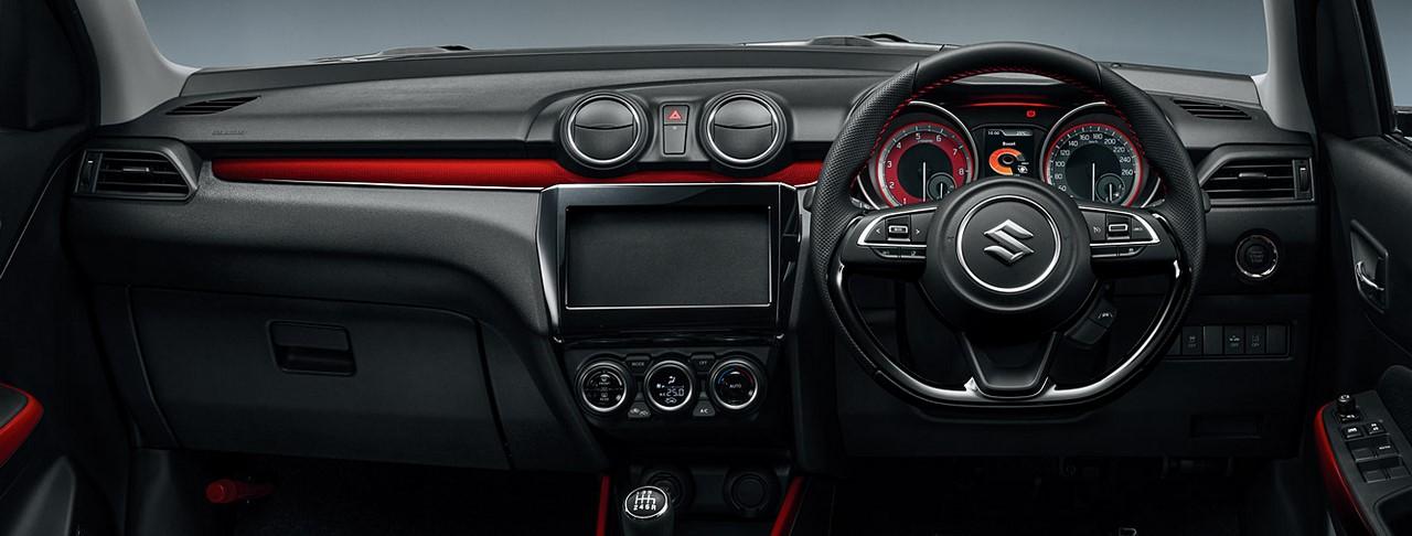 Suzuki Releases Interior Photos of New Swift Sport 1