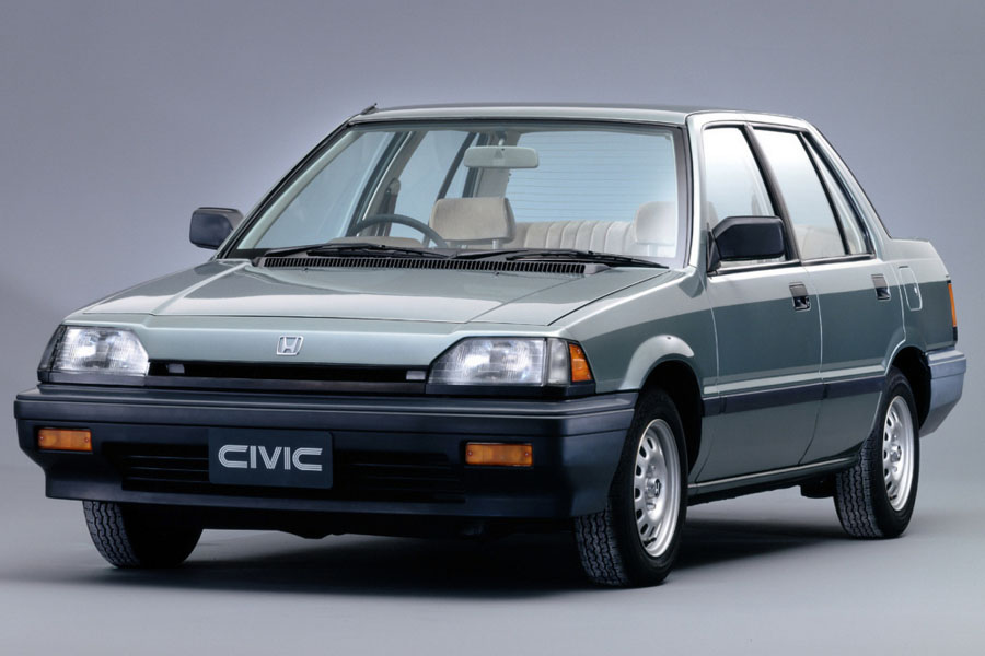 Remembering the Third Generation Honda Civic 1