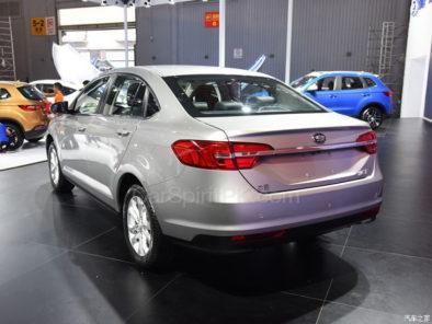 All New FAW A50 Sedan Displayed at 2017 Chengdu Auto Show 7