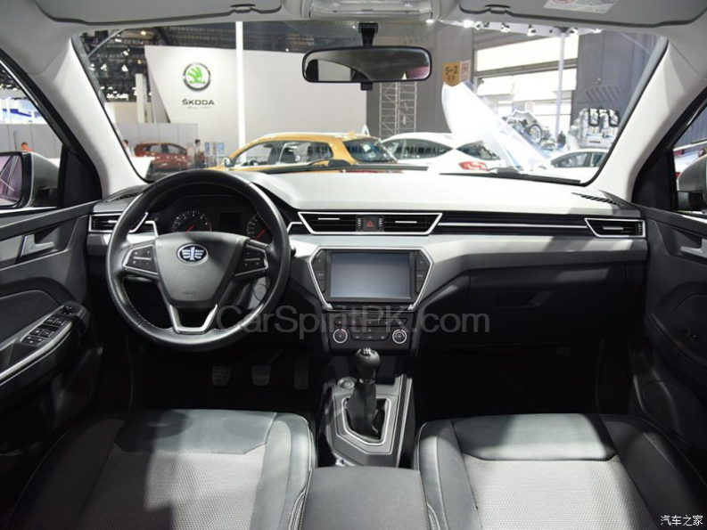 All New FAW A50 Sedan Displayed at 2017 Chengdu Auto Show 13