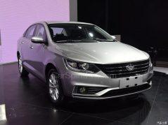 All New FAW A50 Sedan Displayed at 2017 Chengdu Auto Show 3
