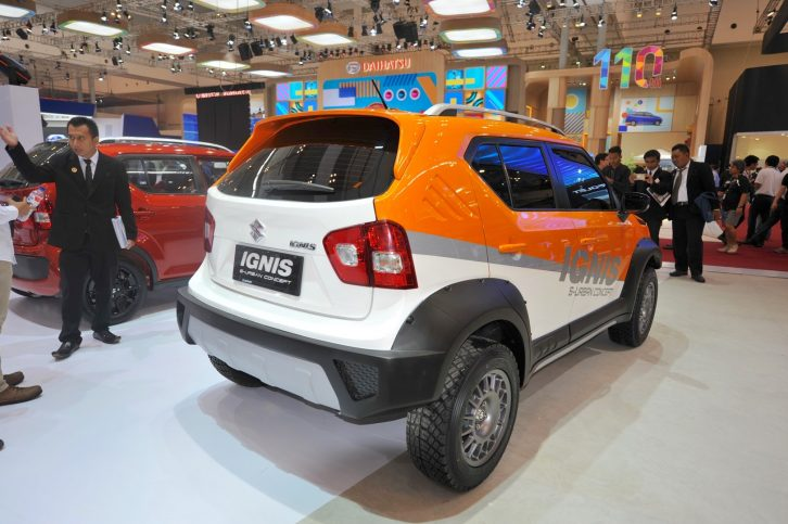 GIIAS 2017: Suzuki Ignis Urban Concepts 5
