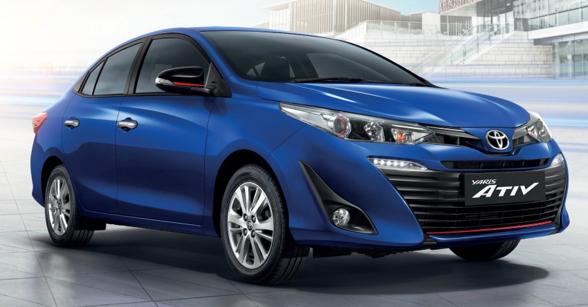 New Toyota Yaris Ativ Sedan Launched in Thailand 1