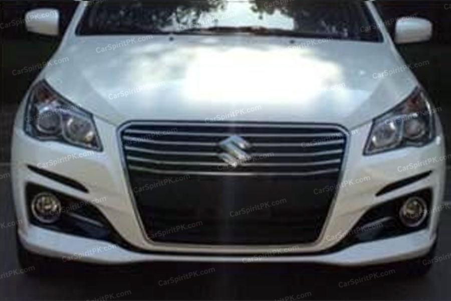 Suzuki Ciaz/ Alivio Facelift Spotted 2