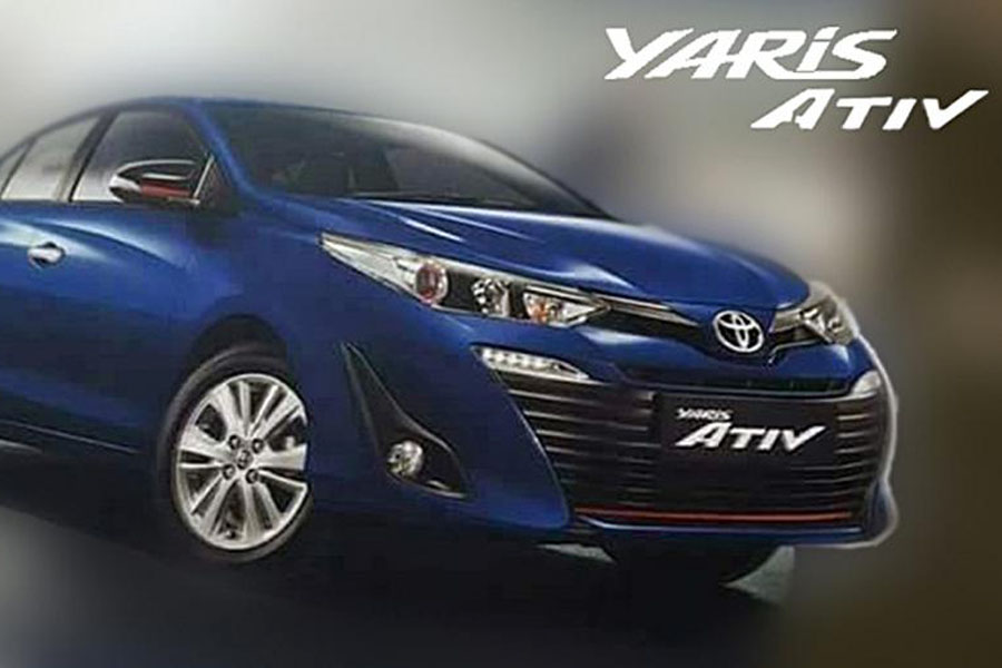 Toyota Yaris ATIV Leaks Out Ahead of 15th August Launch in Thailand 26