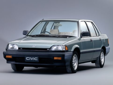 Remembering the Third Generation Honda Civic 4