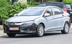 Honda City Hybrid Spotted Testing in Europe 3