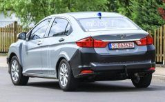 Honda City Hybrid Spotted Testing in Europe 4