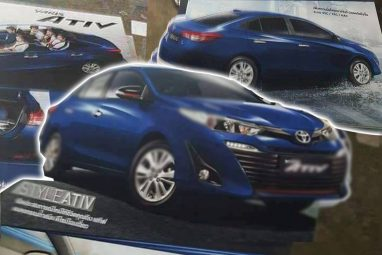 Toyota Yaris ATIV Leaks Out Ahead of 15th August Launch in Thailand 3