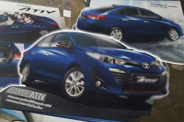 Toyota Yaris ATIV Leaks Out Ahead of 15th August Launch in Thailand 2