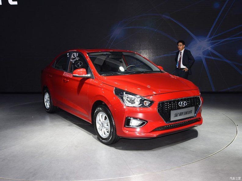 Hyundai Launches the Low-Budget Reina Sedan in China 7