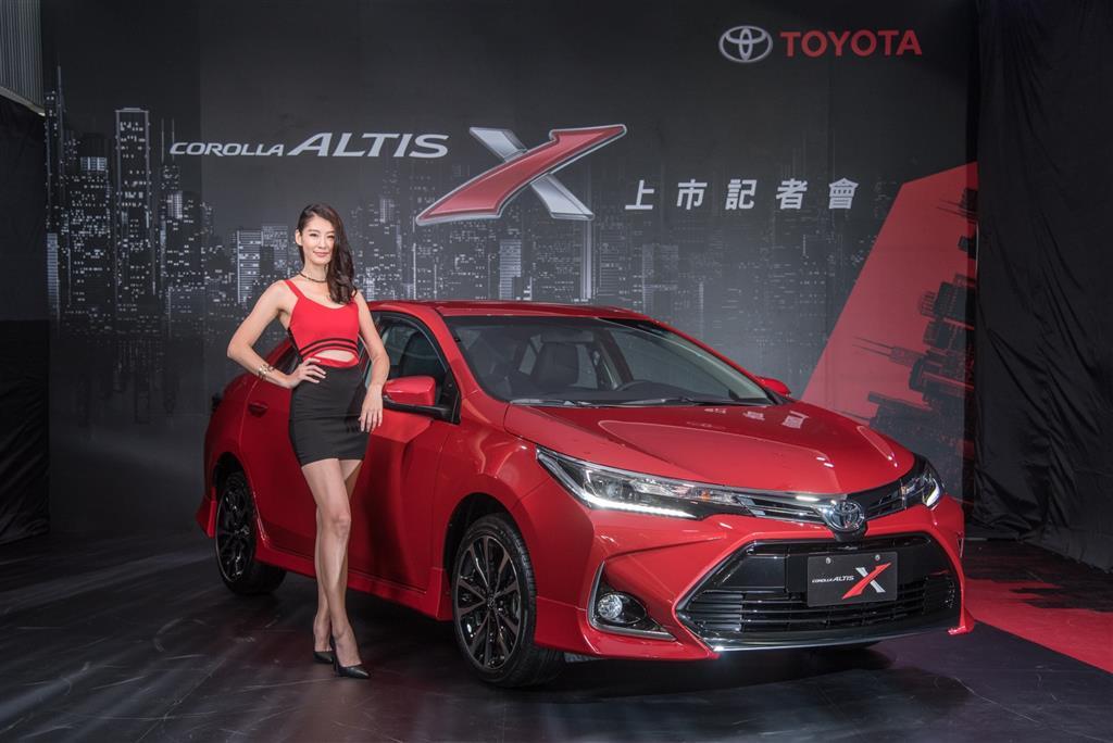 2017 Toyota Corolla Altis X Launched in Taiwan 12