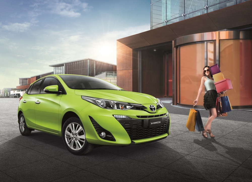 2018 Toyota Yaris Hatchback Launched in Thailand - CarSpiritPK