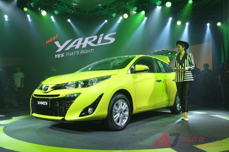 2018 Toyota Yaris Hatchback Launched in Thailand 2