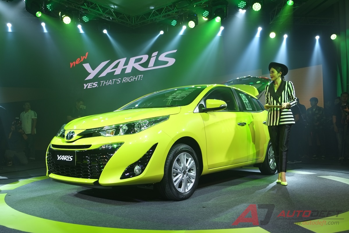2018 Toyota Yaris Hatchback Launched in Thailand 1