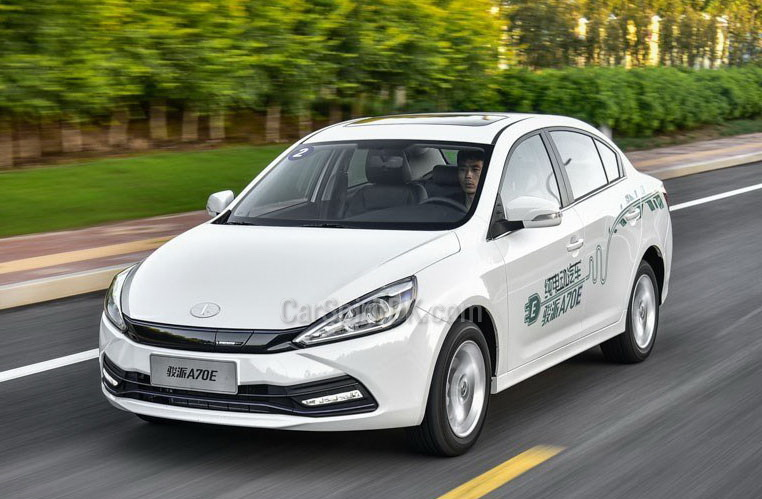 Pure Electric FAW A70E Launched in China 1