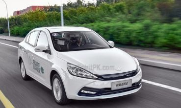 Pure Electric FAW A70E Launched in China 2