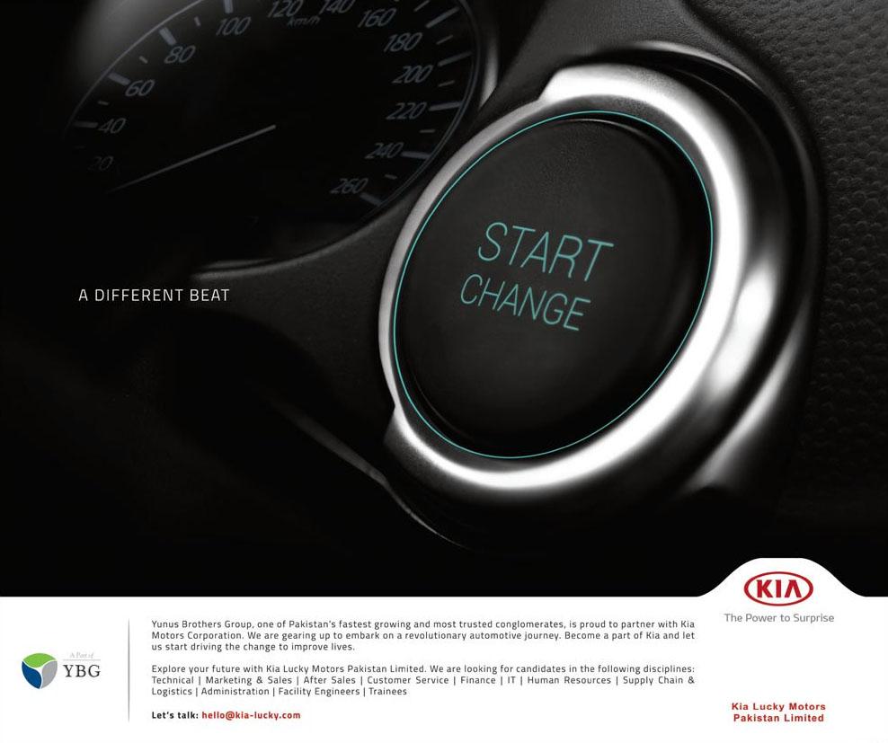 KIA Motors Starts Hiring in Pakistan 5