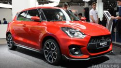 All New Swift Sport Unveiled at 2017 Frankfurt Motor Show 15