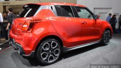 All New Swift Sport Unveiled at 2017 Frankfurt Motor Show 24
