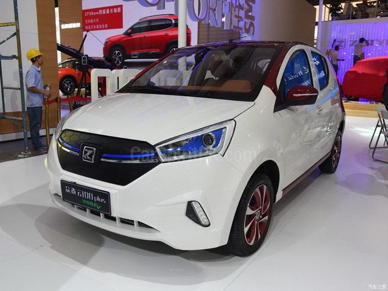 Zotye Z100 Plus at 2017 Chengdu Auto Show 2