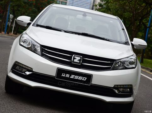 Zotye Z560 Launched in China 4