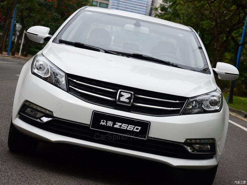 Zotye Z560 Launched in China 3