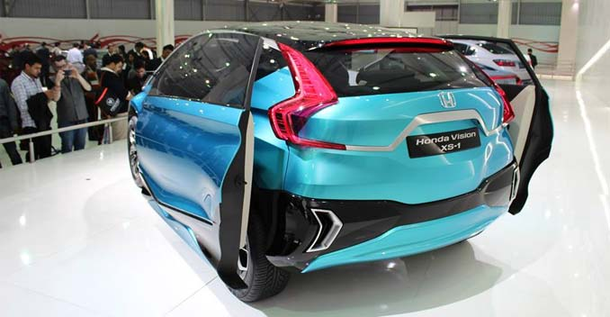Honda Vision XS-1 Concept Reportedly Heading to Production 10