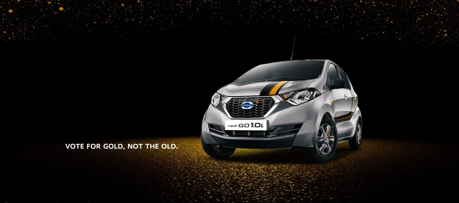 Datsun Redi-GO Gold launched in India at INR 3.69 lac 2