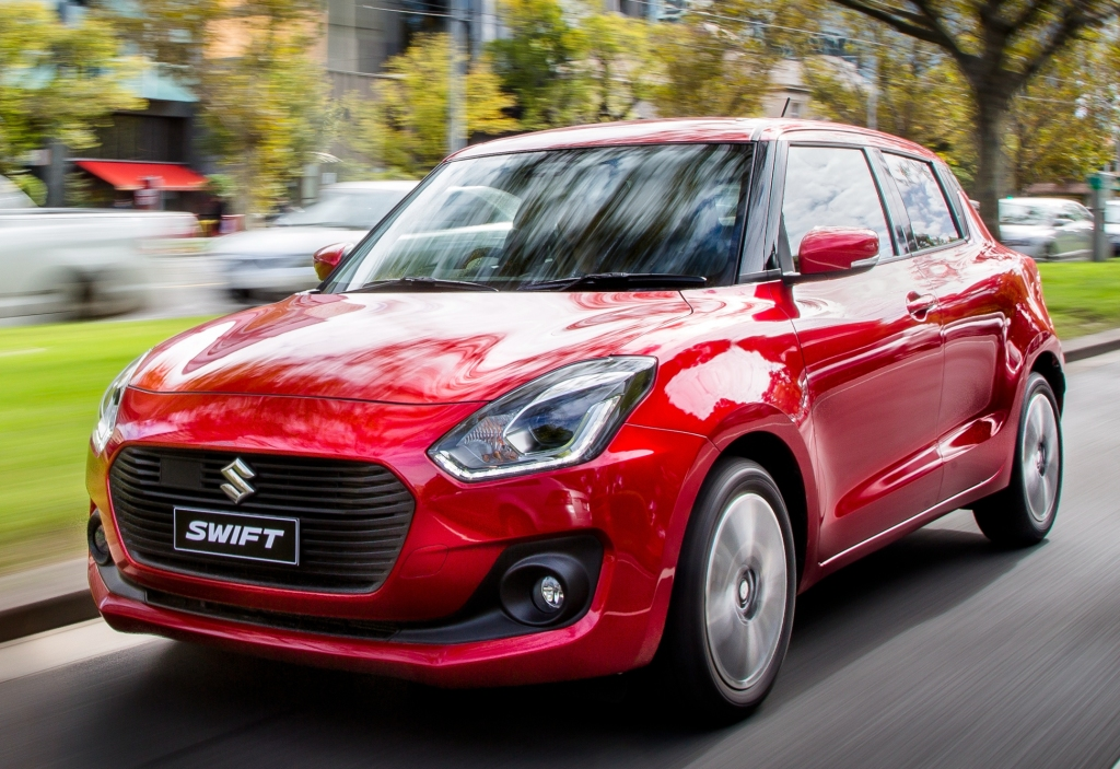 4th gen Swift 2017 to Launch in India- We Still Get the 13 Year Old Swift 13