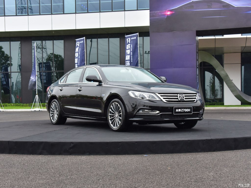 Zotye Launches the Stunning Z700H Facelift in China 2