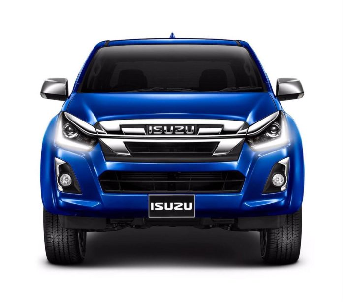 2018 Isuzu D-Max Facelift Officially Revealed in Thailand 6