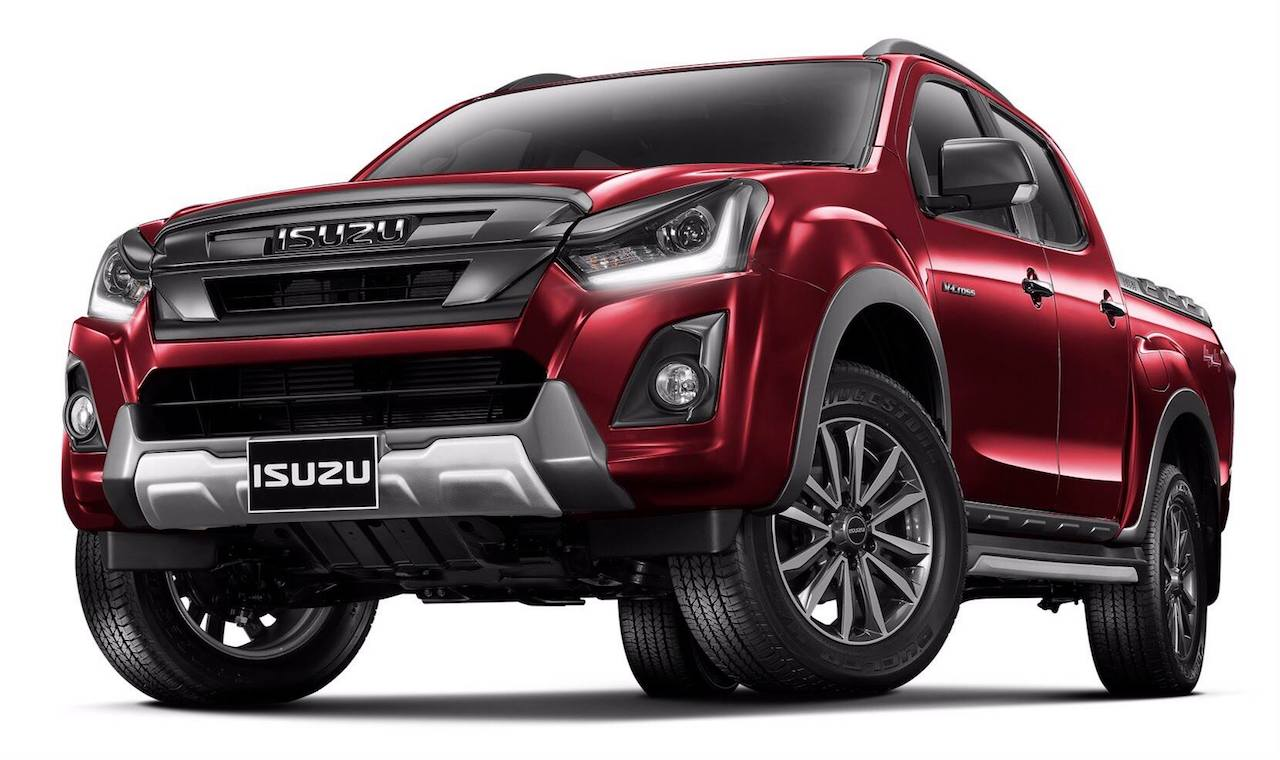 2018 Isuzu D-Max Facelift Officially Revealed In Thailand
