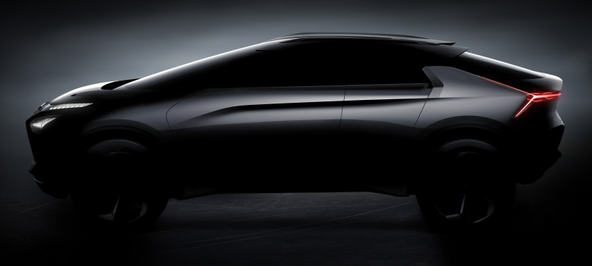 Mitsubishi e-Evolution Concept to be showcased at Tokyo Motor Show 1