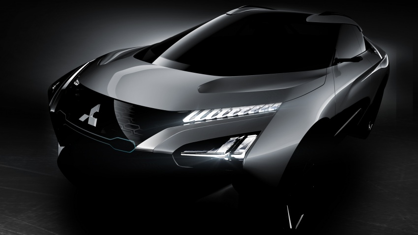 Mitsubishi e-Evolution Concept to be showcased at Tokyo Motor Show 1