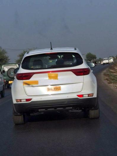 KIA Vehicles Spotted Testing 1