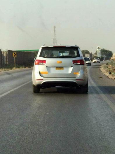 KIA Vehicles Spotted Testing 2