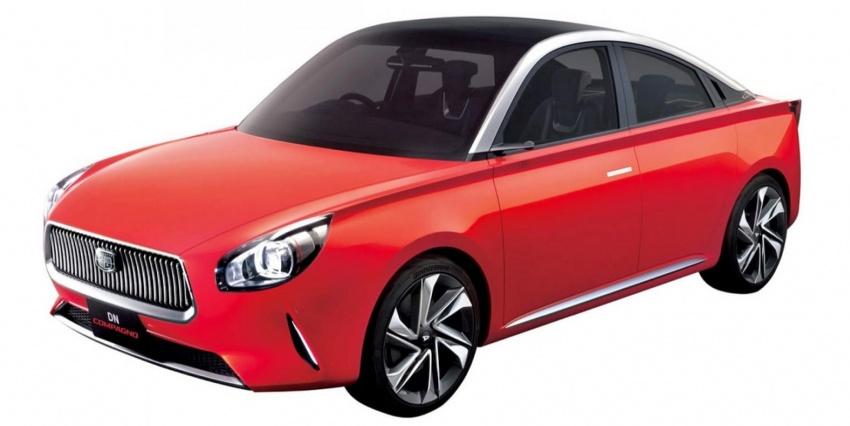 Daihatsu DN Compagno 4 Door Coupe Concept 12