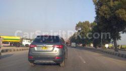 FAW R7 SUV Spotted Testing in Karachi 6