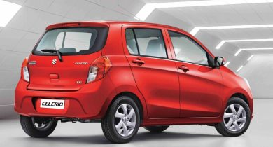 Suzuki Celerio Facelift Launched in India at INR 4.15 lac 3