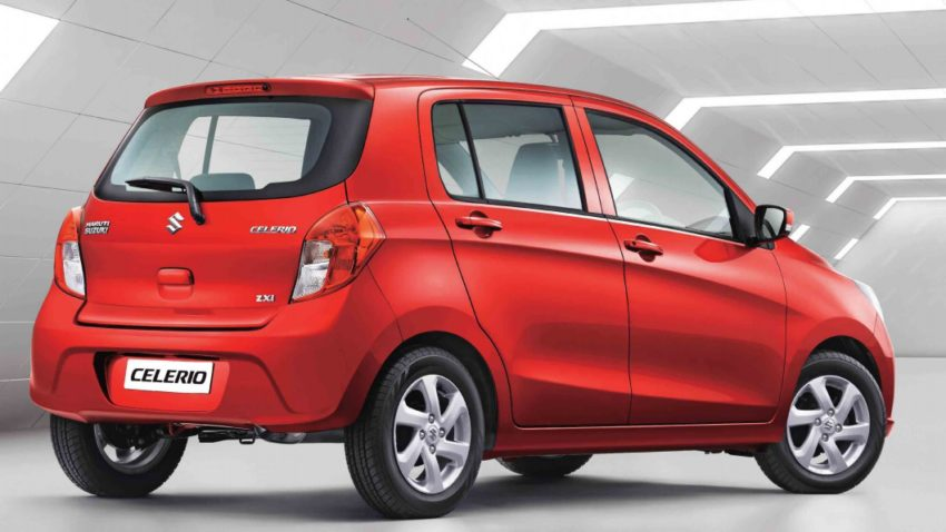 Suzuki Celerio Facelift Launched in India at INR 4.15 lac 4