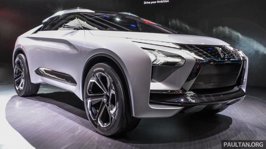 Mitsubishi e-Evolution Concept at the 2017 Tokyo Motor Show 2