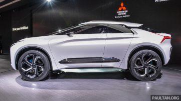 Mitsubishi e-Evolution Concept at the 2017 Tokyo Motor Show 3