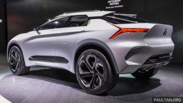 Mitsubishi e-Evolution Concept at the 2017 Tokyo Motor Show 4