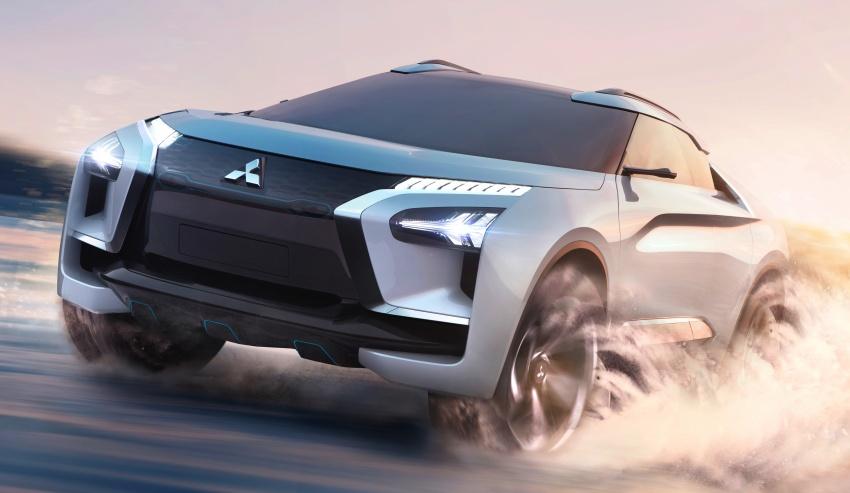 Mitsubishi e-Evolution Concept at the 2017 Tokyo Motor Show 5