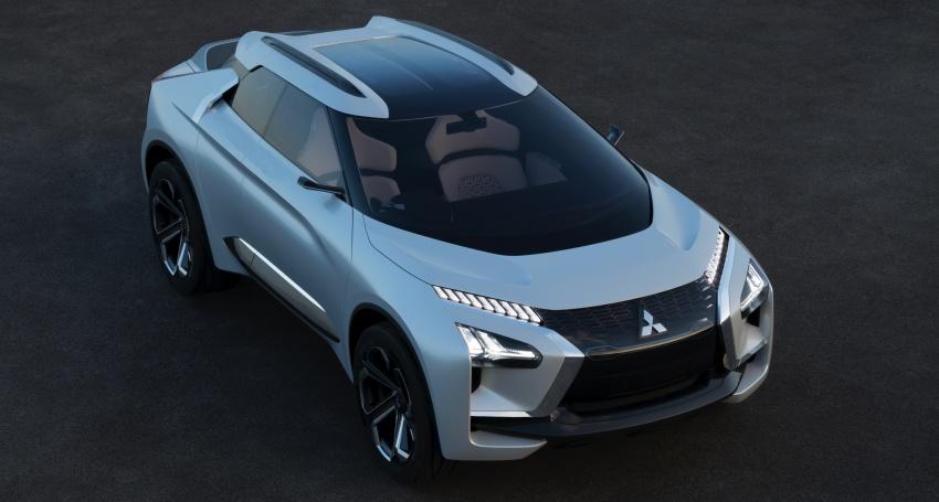 Mitsubishi e-Evolution Concept at the 2017 Tokyo Motor Show 1
