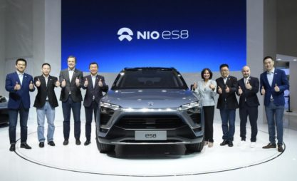 NIO will Launch the ES8 Electric SUV in December 5