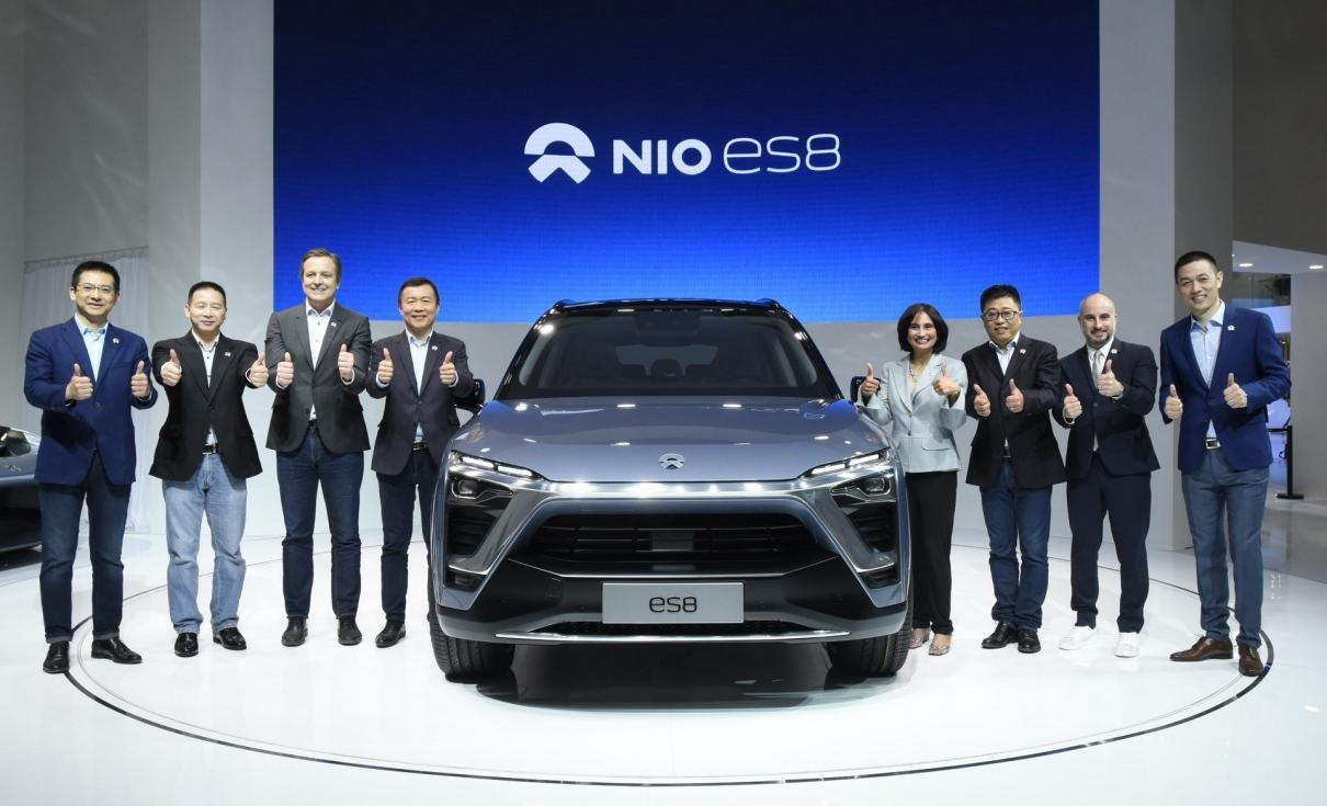 Lamborghini Car 2017 Model >> NIO will Launch the ES8 Electric SUV in December | CarSpiritPK