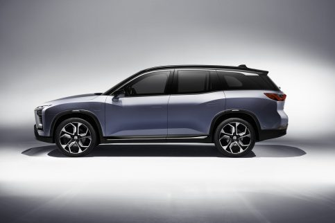 NIO will Launch the ES8 Electric SUV in December 3