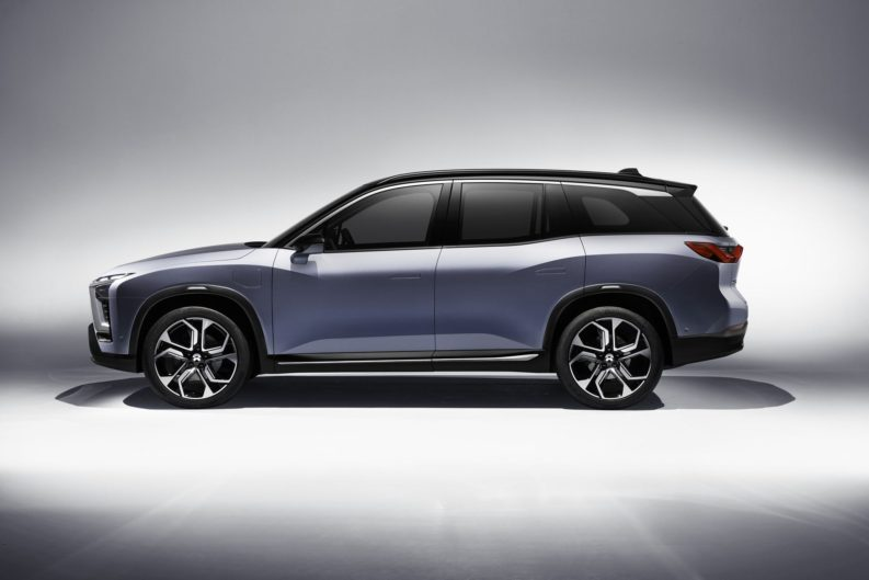 NIO will Launch the ES8 Electric SUV in December 2